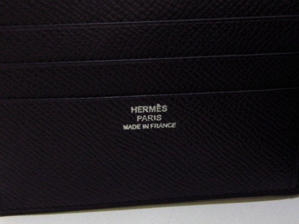 HERMES(エルメス) 札入れ美品  - 黒 クシュベル