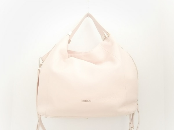 FURLA(フルラ) トートバッグ美品  ピンク レザー