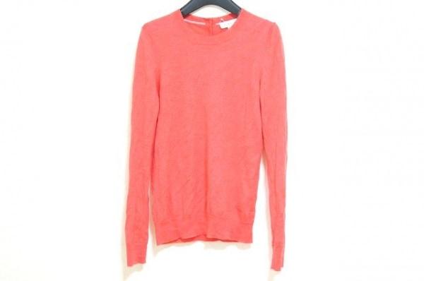TORY BURCH(トリーバーチ) 長袖セーター サイズS レディース美品  レッド カシミヤ