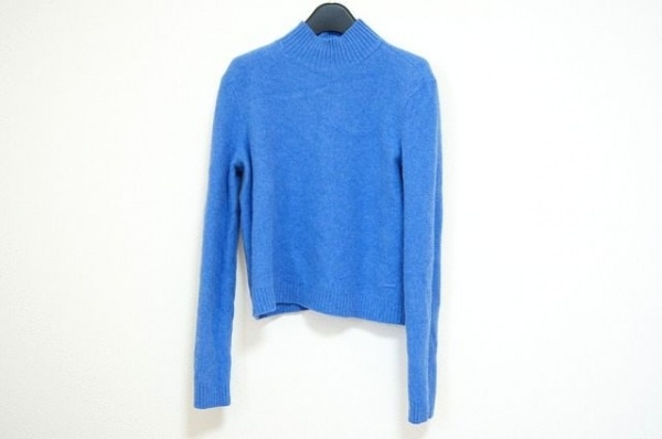 トリーバーチ 長袖セーター サイズS/P S レディース美品  ブルー ハイネック