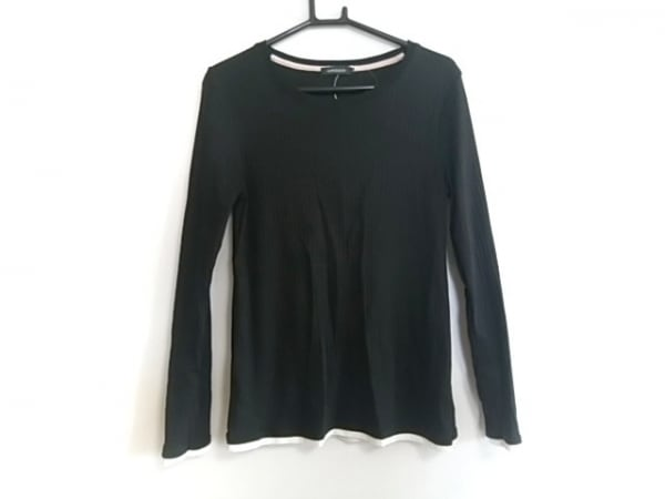 LOVELESS(ラブレス) 長袖カットソー サイズ36 S レディース美品  黒×白