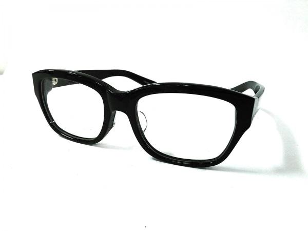 UNITED ARROWS(ユナイテッドアローズ) メガネ 黒×クリア プラスチック×金属素材