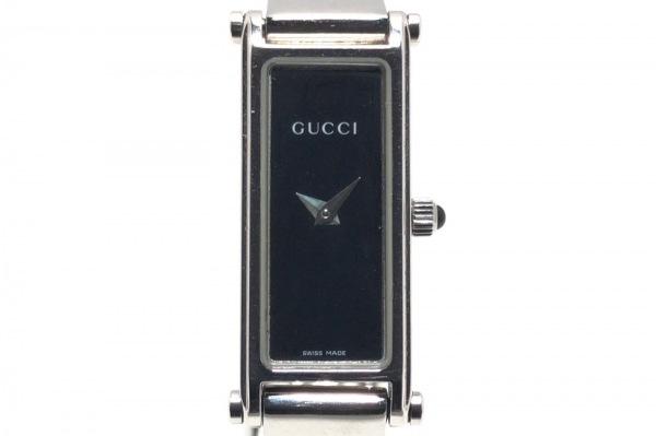 GUCCI(グッチ) 腕時計 1500L レディース 黒