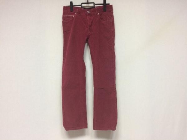 CARE LABEL(ケア レーベル) パンツ サイズ30 メンズ レッド