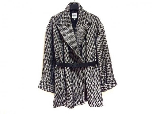 JeanPaulGAULTIER(ゴルチエ) コート サイズ38 M レディース新品同様  黒×白 冬物