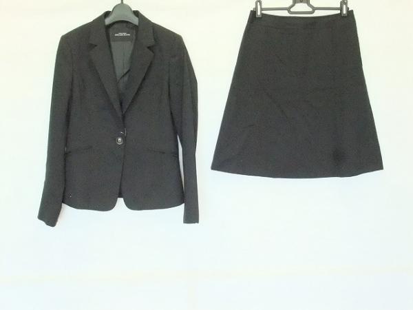 グリーンレーベルリラクシング スカートスーツ レディース 黒 UNITED ARROWS