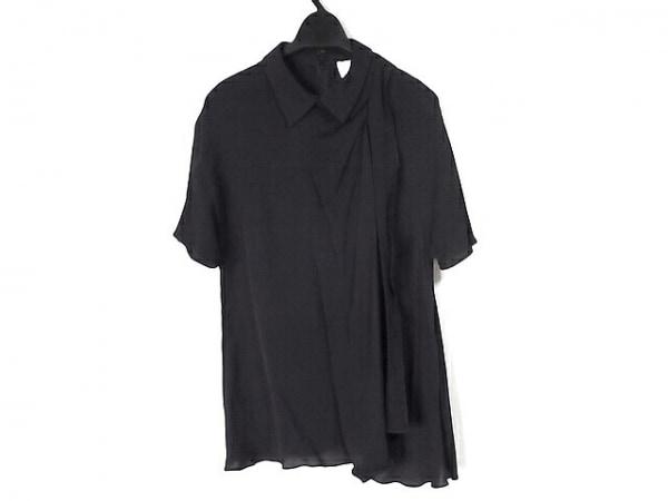3.1 Phillip lim(スリーワンフィリップリム) 半袖ポロシャツ サイズ2 S レディース 黒