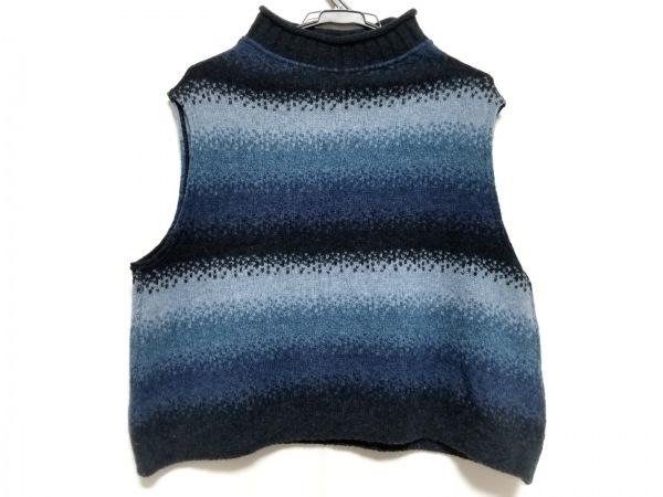 慈雨(ジウ/センソユニコ) ノースリーブセーター サイズ40 M レディース美品