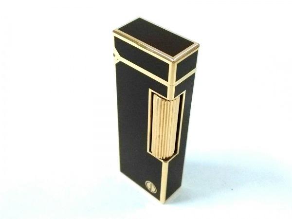 ダンヒル ライター ボルドー×ゴールド 着火確認できず 金属素材