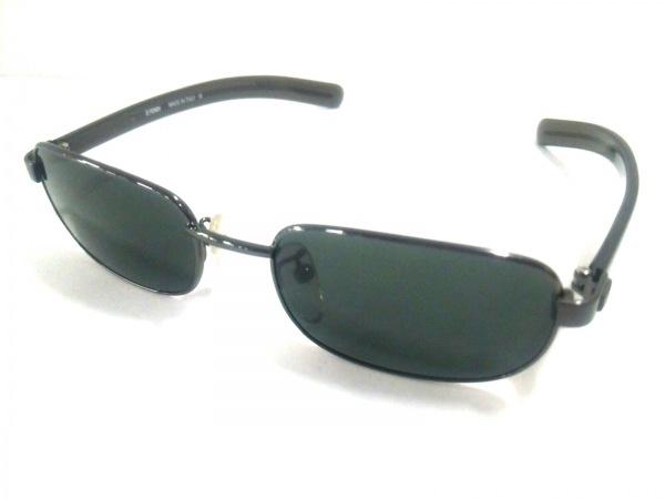 FENDI(フェンディ) サングラス美品  SL7220 ダークグレー プラスチック×金属素材