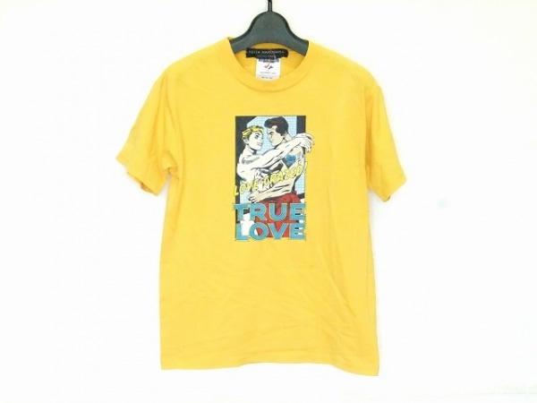 KEITA MARUYAMA(ケイタマルヤマ) 半袖Tシャツ サイズM レディース イエロー