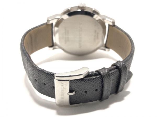 バーバリー 腕時計美品  BU9359 メンズ クロノグラフ/サファイヤクリスタル/革ベルト