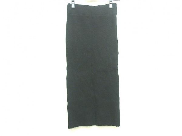 ジェームスパース スカート サイズ1 S レディース 黒 ニット/ニット/STANDARD