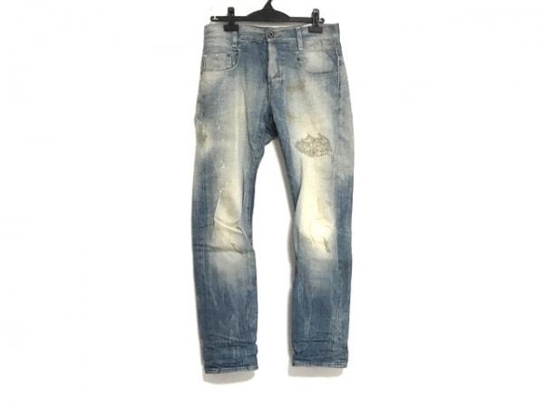 G-STAR RAW(ジースターロゥ) ジーンズ サイズ30 メンズ ブルー ダメージ加工