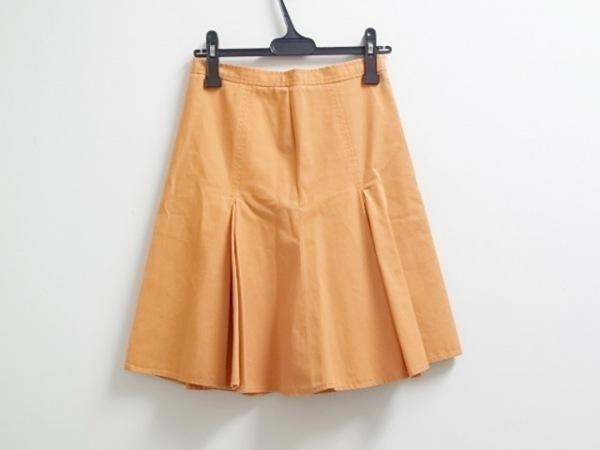 MOSCHINO CHEAP&CHIC(モスキーノ チープ&シック) スカート レディース オレンジ