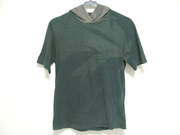 アンダーカバイズム 半袖カットソー サイズ2 M メンズ ダークグリーン