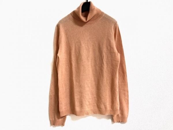 23区(ニジュウサンク) 長袖セーター サイズ40 M レディース美品  オレンジ ハイネック