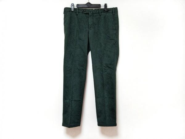 PT01(ピーティーゼロウーノ) パンツ サイズ48 XL レディース ダークグリーン