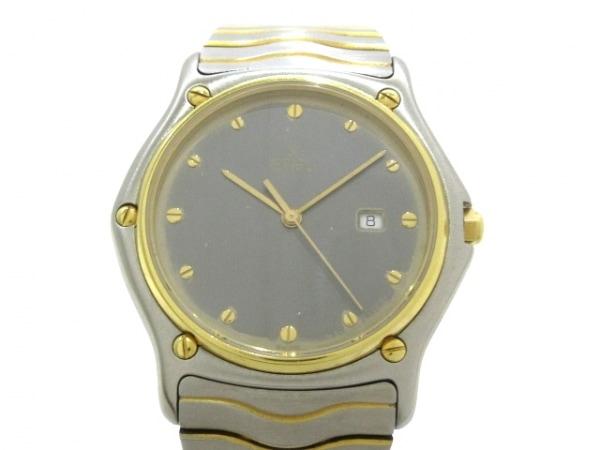 EBEL(エベル) 腕時計 クラシックウェーブ 7137 メンズ ダークグレー