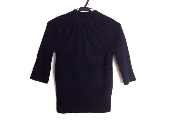 demylee(デミリー) 七分袖セーター サイズS レディース ダークネイビー