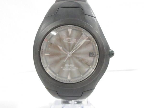 ジーエスエックス 腕時計美品  GSX904GDZ メンズ ゴジラ生誕50周年記念モデル/裏スケ