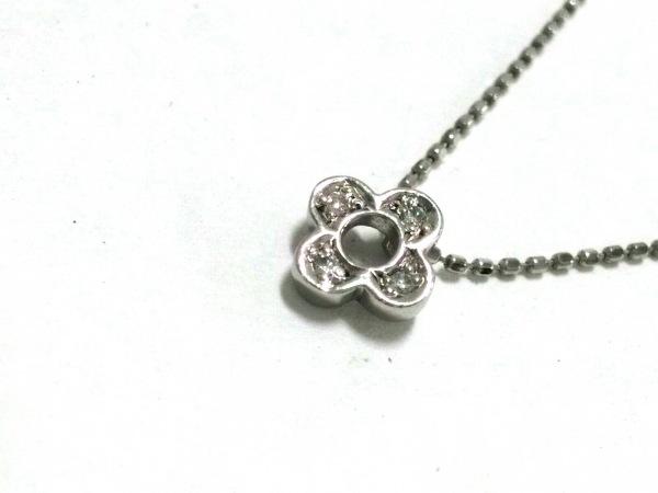 VENDOME(ヴァンドーム青山) ネックレス美品  Pt900×Pt850×ダイヤモンド 4Pダイヤ