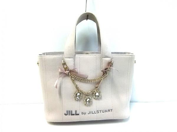 JILL by JILLSTUART(ジルバイジルスチュアート) トートバッグ ベージュ キャンバス