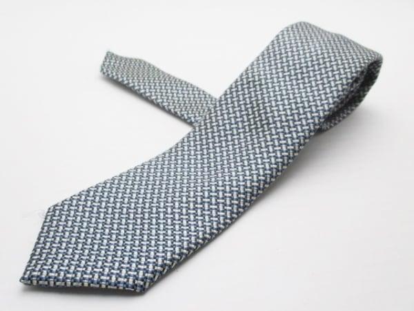 ユナイテッドアローズ ネクタイ メンズ ブルー×白×黒 1
