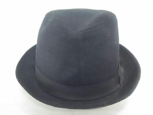 COEUR(クール) ハット美品  黒 ウール×ナイロン