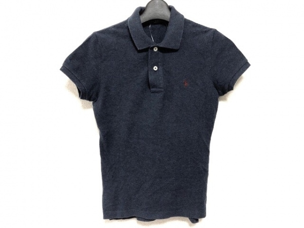 RalphLauren(ラルフローレン) 半袖ポロシャツ サイズM レディース ネイビー