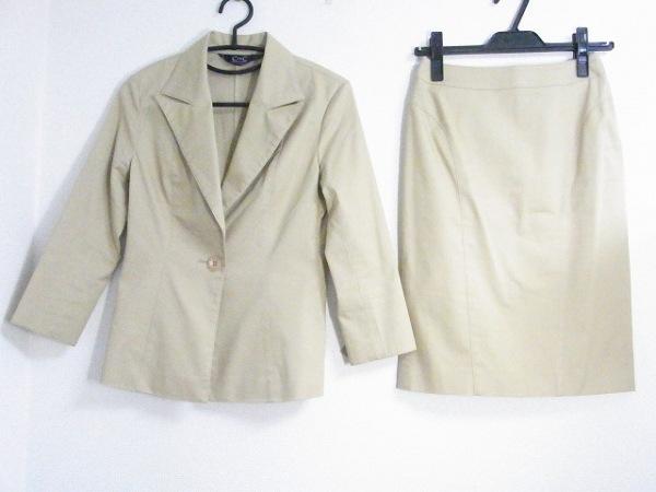 CdeC COUP DE CHANCE(クードシャンス) スカートスーツ レディース美品  ベージュ