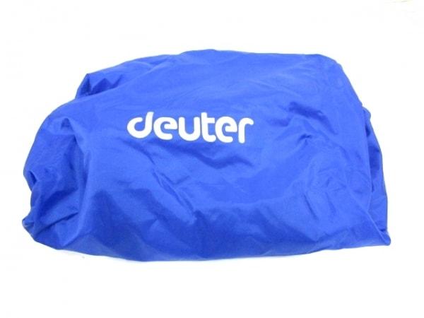 deuter(ドイター) リュックサック グレー×ダークグレー×レッド ナイロン