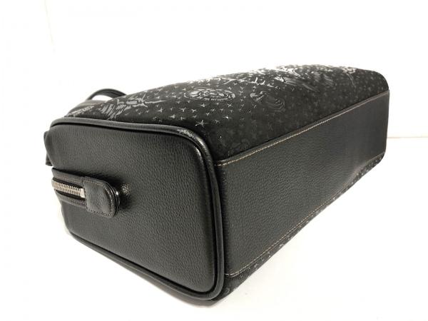 印傳屋(インデンヤ) ハンドバッグ美品  黒 レザー×漆