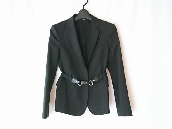 GUCCI(グッチ) ジャケット サイズ38 S レディース 黒 肩パッド