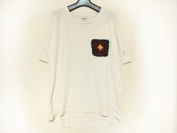 MANASTASH(マナスタッシュ) 半袖Tシャツ サイズM メンズ 白