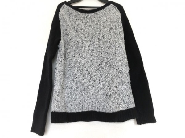 rag&bone(ラグアンドボーン) 長袖セーター サイズL L レディース 白×黒