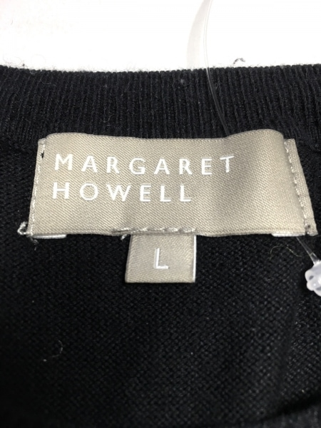 MargaretHowell(マーガレットハウエル) 半袖カットソー サイズL レディース 黒