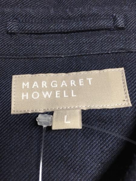 MargaretHowell(マーガレットハウエル) 長袖シャツ サイズL メンズ ダークネイビー