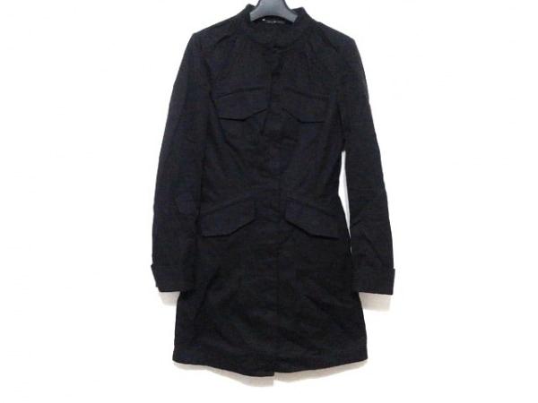 GUCCI(グッチ) コート サイズ38 S レディース 黒 春・秋物