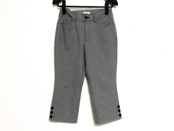 B3 B-THREE(ビースリー) パンツ サイズ32 XS レディース 黒×グレー×白 千鳥格子