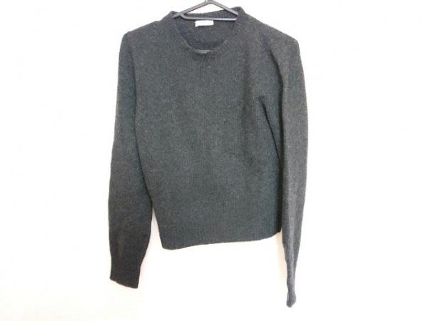 PRADA(プラダ) 長袖セーター サイズ44 L レディース ダークグレー