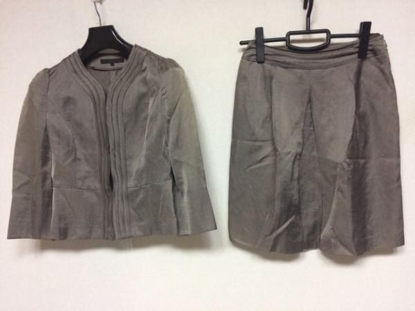 ANAYI(アナイ) スカートスーツ サイズ36 S レディース ダークブラウン