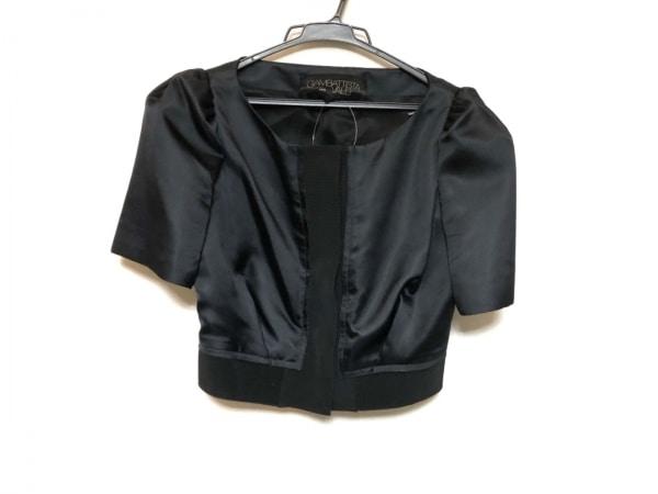 ジャンバティスタヴァリ ジャケット サイズXS レディース美品  黒 シルク/半袖