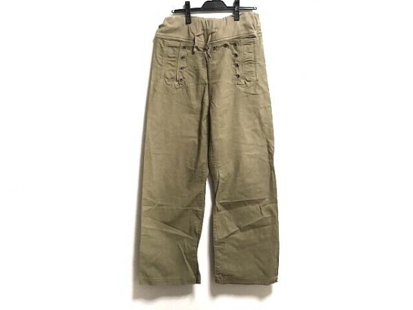 KAPITAL(キャピタル) パンツ サイズ3 L メンズ カーキ