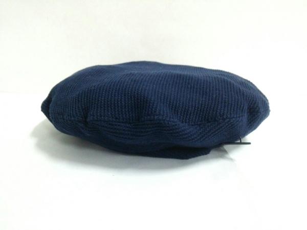 Muhlbauer(ミュールバウアー) 帽子 ネイビー コットン