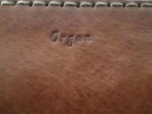 organ(オルガン) ポーチ美品  ブラウン レザー