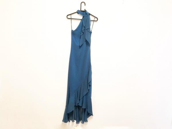 La Defence(ラデファンス) ドレス サイズ9 M レディース ブルー