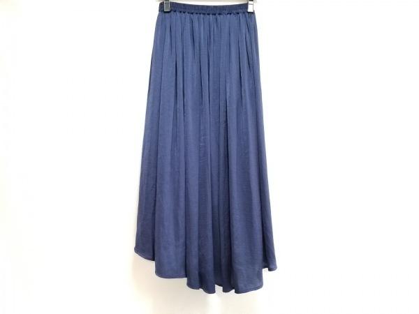 Tiaclasse(ティアクラッセ) ロングスカート サイズF レディース美品  ネイビー