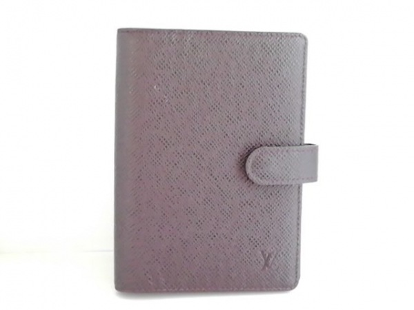 LOUIS VUITTON(ルイヴィトン) 手帳 タイガ アジェンダPM R20434 グリズリ