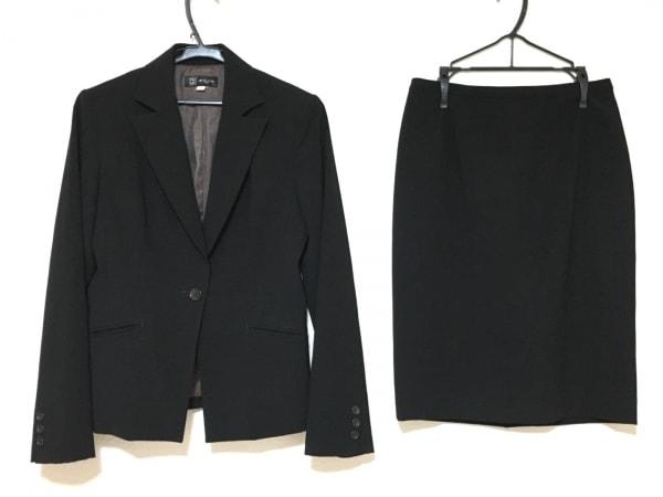 MICHELKLEIN(ミッシェルクラン) スカートスーツ サイズ40 M レディース美品  黒